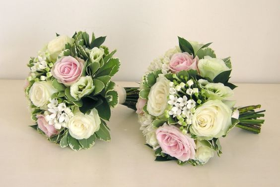 Rose Bouvardia Lisianthus For Wedding Flowers