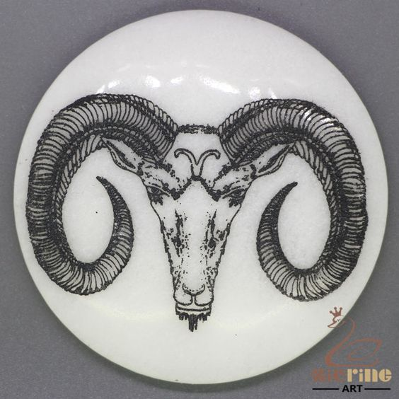 CHARMING FRIDGE MAGNET ANTELOPE WALL DECOR DIY WHITE STONE ZR3000127 #ZL…