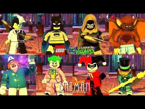 Lego Dc Super Villains Batman All The Animated Series Characters Unlocked Lego Dc Super Villains Animation Series