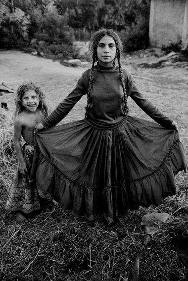 Roma gypsy girl: