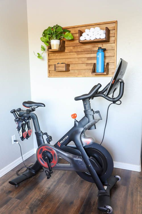 How To Build A French Cleat Wall Organizer Addicted 2 Diy Gym Room At Home Workout Room Home Small Home Gyms