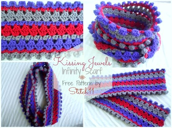 Kissing Jewels - free pattern | Crochet Patterns | Pinterest | Ideas ...