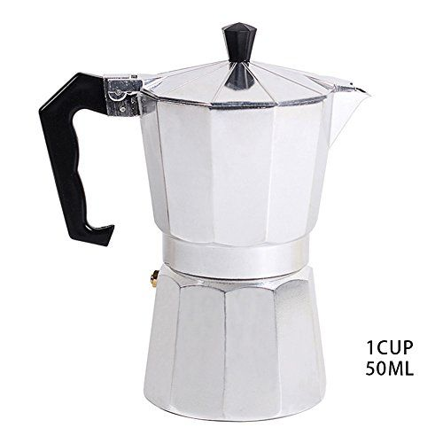 Stovetop Espresso Maker Coffee Filter For Gas And Electric