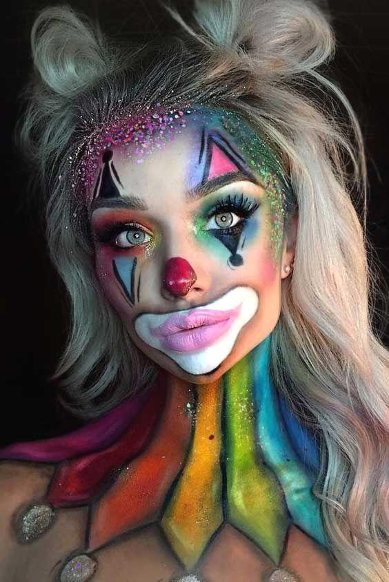 Maquillage Artistique Halloween.Epingle Sur Haloween Make Up