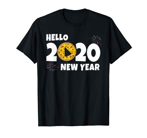Amazonmens Christmas Gifts 2020 Hello New Year 2020 Pizza T Shirt New Year 2020 Pizza https://