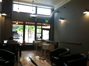 Check out Fortezza Coffee downtown for a great midday break or new study/hangout spot