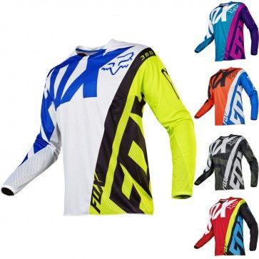 Fox Racing 360 Creo Mens Off Road Dirt Bike Racing Motocross Jerseys