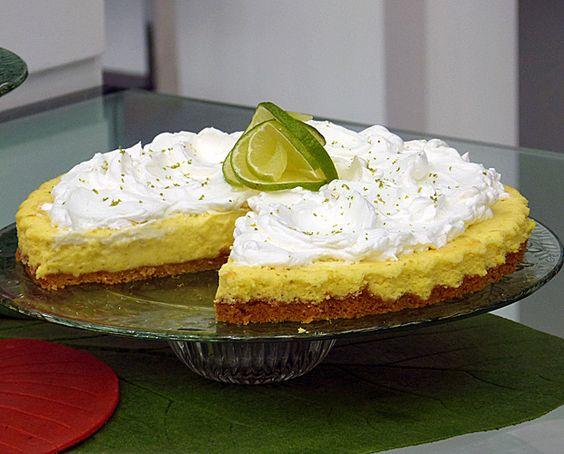 Torta Suflê de Limão   Tortas e bolos > Torta de Limão   Mais Você - Receitas Gshow