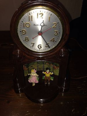 "1950's Mastercrafters Model 551 ""Swinging Playmates"" Clock (216 N Clinton)"