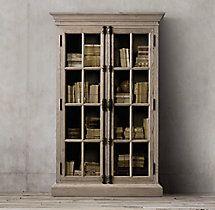French Casement Double-Door Cabinet