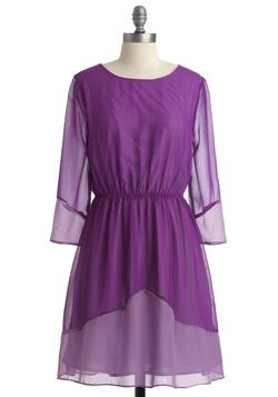 The Grape Getaway Dress: Grape Getaway, Favorite Dresses, Awesome Dresses, Chiffon Dresses