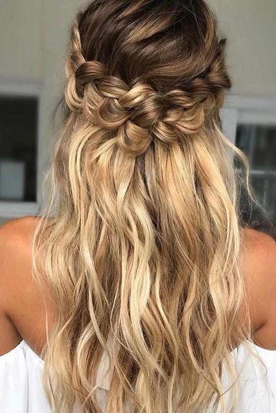 10 Easy Prom Hairstyles For Long Hair And Short Hair Elegant Ideas Frisuren Lange Haare Hochzeitsgast Geflochtene Frisuren Hochsteckfrisur