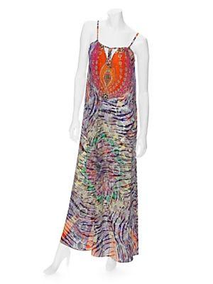 Camilla EXCLUSIVE Waterfall Maxi Dress #INTERMIXPureWow http://bit.ly/MDK6EX