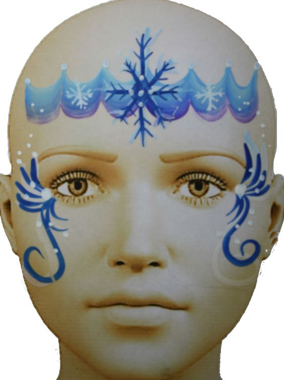 winter schneeflocke prinzessin schminken chicago face painter. Black Bedroom Furniture Sets. Home Design Ideas