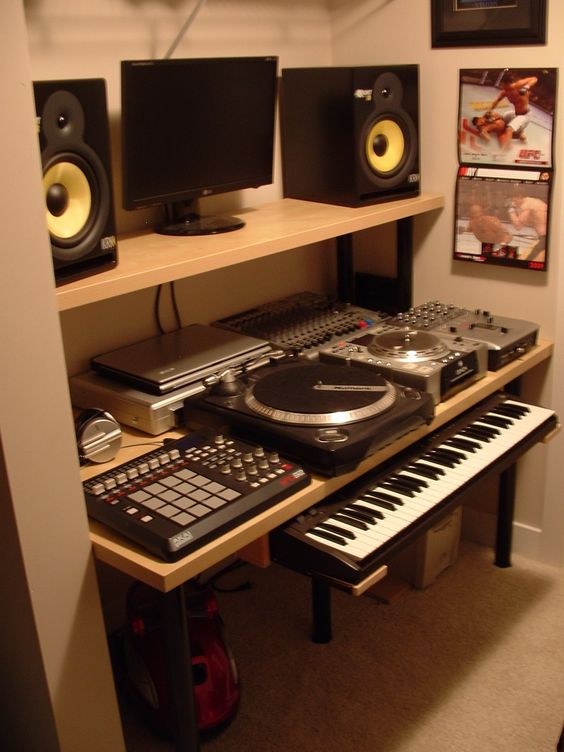 Pin by sand candy on home recording studio pinterest for Where to put a piano in a small house
