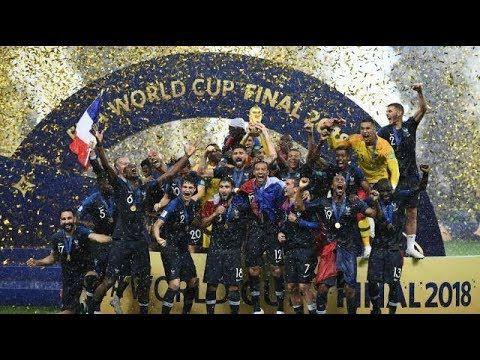 Fifa World Cup 2018 France Champion Golden Ball Golden Boot Glove World Cup Winners Fifa World Cup World Cup 2018