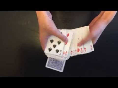 Upside Down Beginner Card Trick Revealed Easy Card Tricks Card Tricks Revealed Easy Magic Card Tricks