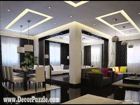 Modern Living Room Interior Design 2015 modern pop designs for home, plaster of paris ceiling design 2015