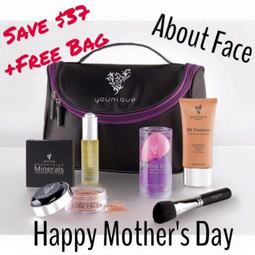 Try out a collection today!! You'll LOVE it!  #mothersday #gift #younique #makeup #beauty #skincare www.brandysflashylashes.com