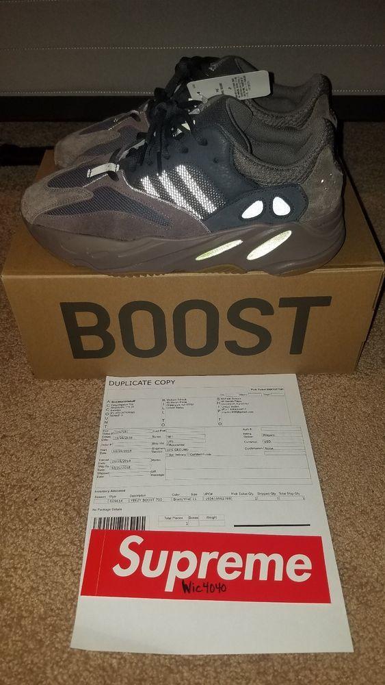 purchase cheap 11eb4 e19bf Adidas Yeezy Boost 700 Mauve Size 11 #fashion #clothing ...