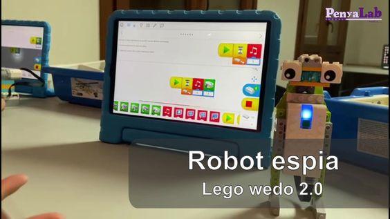 Robot espia amb Lego wedo 2.0