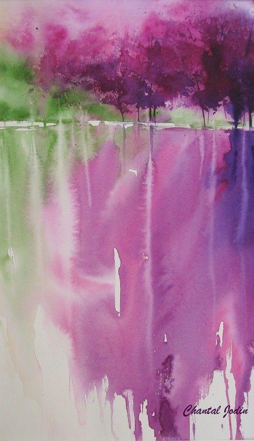 by Chantal Jodin , Watercolorist #watercolor jd