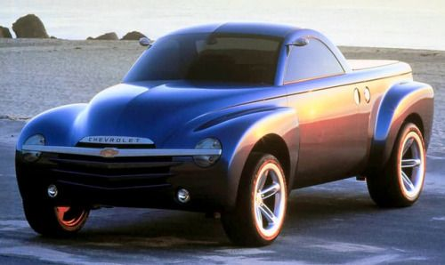 Chevrolet Ssr Concept 2000 A Prototype For The Super Sport