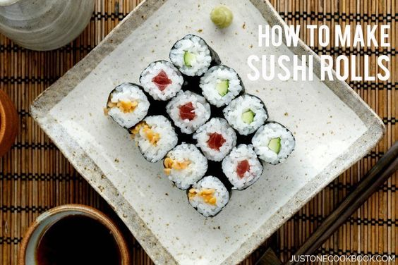 Sushi Rolls 細巻き | Easy Japanese Recipes at JustOneCookbook.com