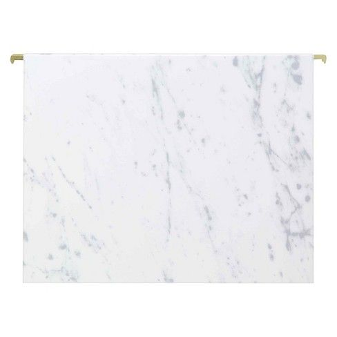 6 Hanging File Folders 6ct Gray Marble Threshold
