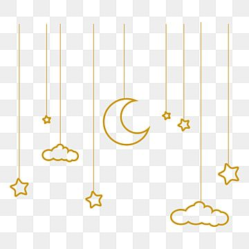 Hanging Cute Moon Stars White Clouds Hanging Cute Moon Stars White Clouds Charms Png And Vector With Transparent Background For Free Download Star Background Hanging Stars Star Clipart