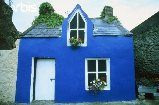 Blue Cottage by leona