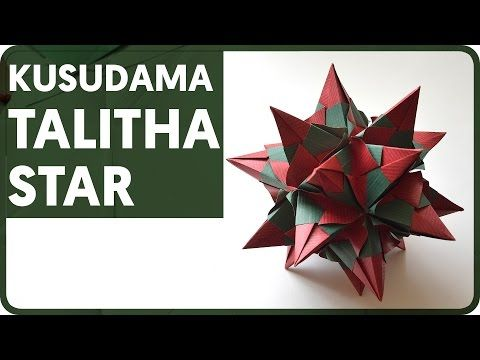 Origami Talitha Star (Maria Sinayskaya) - YouTube