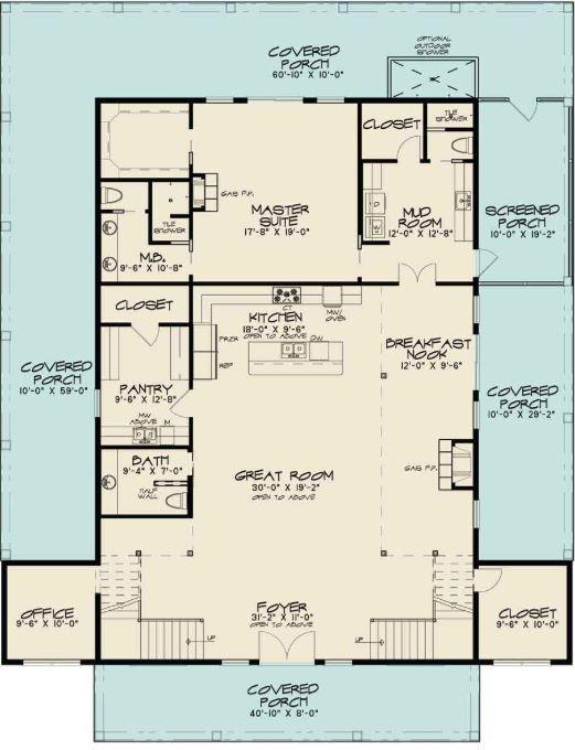 5 Large Two Storey Barndominium Floor Plans Floor Plans Barn Homes Floor Plans Barn House Plans Country Style House Plans