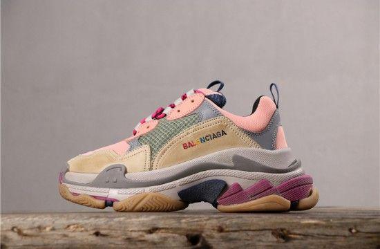 Balenciaga Triple S Sneaker Beige Pink