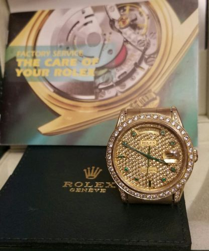 Rolex  18k Solid Yellow Gold  Date Day Double Q.S 15k at No/Reserve  https://t.co/A7BdjlCexb https://t.co/Uw8fU5MFsL