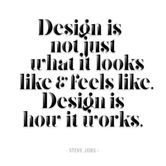 Zitat visualisiert von Designer Craig Black