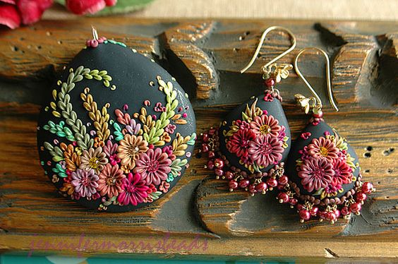 vintage mexican embroidery inspired pieces by jennifermorris, via Flickr