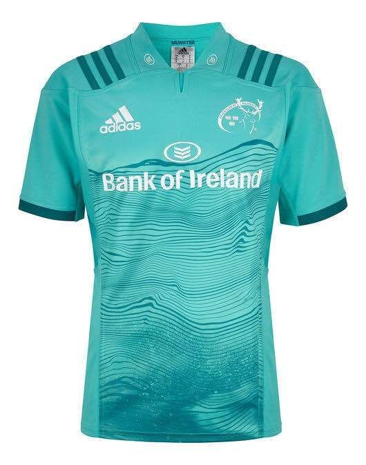 Deportista pedazo suspicaz  Munster Rugby Team Away JERSEY SHIRT 2018 - 19 Adidas | Munster ...