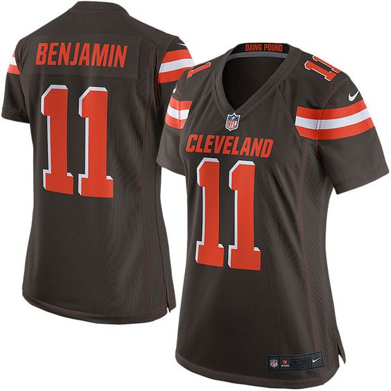 youth nike cleveland browns 5 limited white road nfl jersey spencer travis benjamin los angeles char