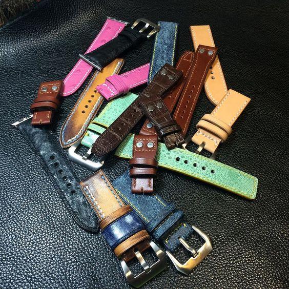 #summerleather# #handmade# #vintage# #leather# #watchstrap# #panerai# #rolex# #ancon# #sevenfriday##applewatch #IWC