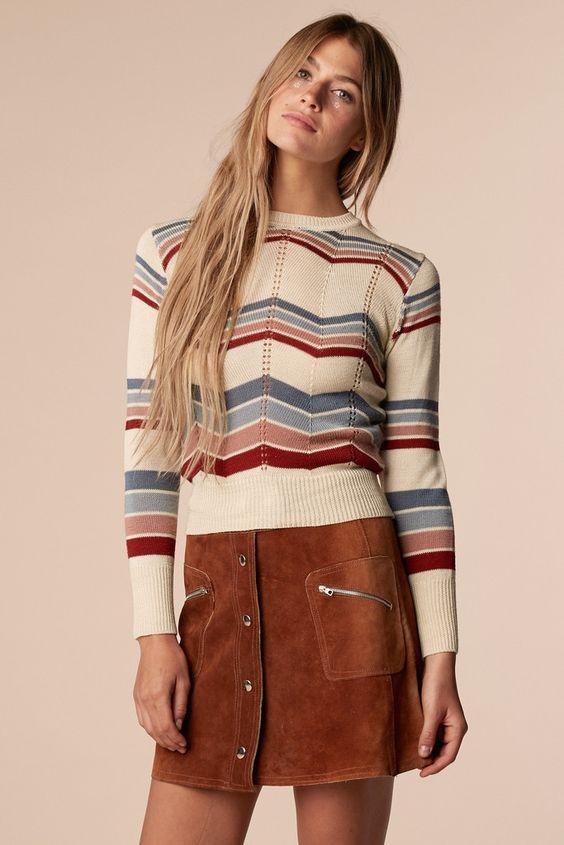 Marsha 70's Sweater: