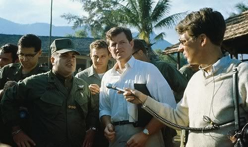 Ted Kennedy. South Vietnam, 1968