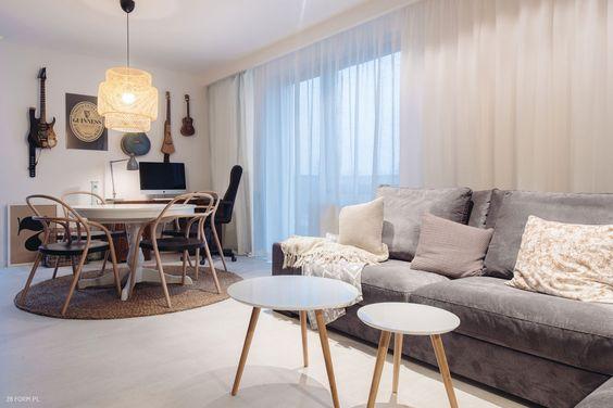 Otwarta przestrzeń, sprzyjająca rodzinnemu życiu zaprojektowana przez 28 FORM - PLN Design