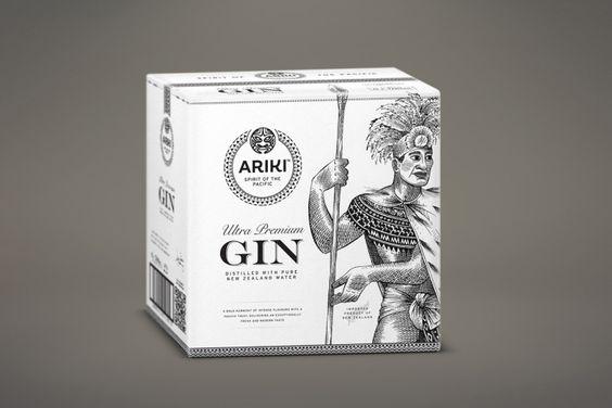 Ariki Gin branding & packaging by Redfire Design » Retail Design Blog
