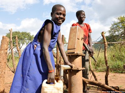 Why we start with water and sanitation