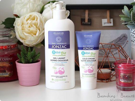 Bébé Bio, la première gamme de soin bio Jonzac dédiée aux bébés !
