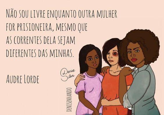 Denisenhando: ilustrações poderosas com mensagens feministas: