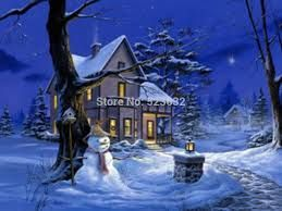 Résultats de recherche d'images pour «peinture de bonhomme de neige»