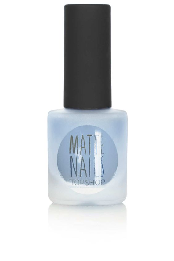 Satin Matte Nails in Whisper - New In This Week - New In - Topshop