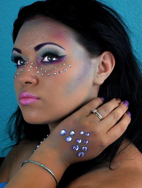 Mermaid Makeup :) | Fun with Nancy: